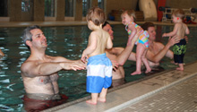 parent child swim class