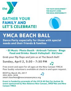 YMCA Beach Ball @ New Canaan YMCA