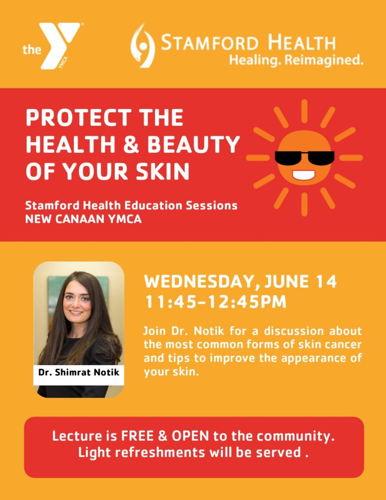 Protect the Health & Beauty of Your Skin @ New Canaan YMCA