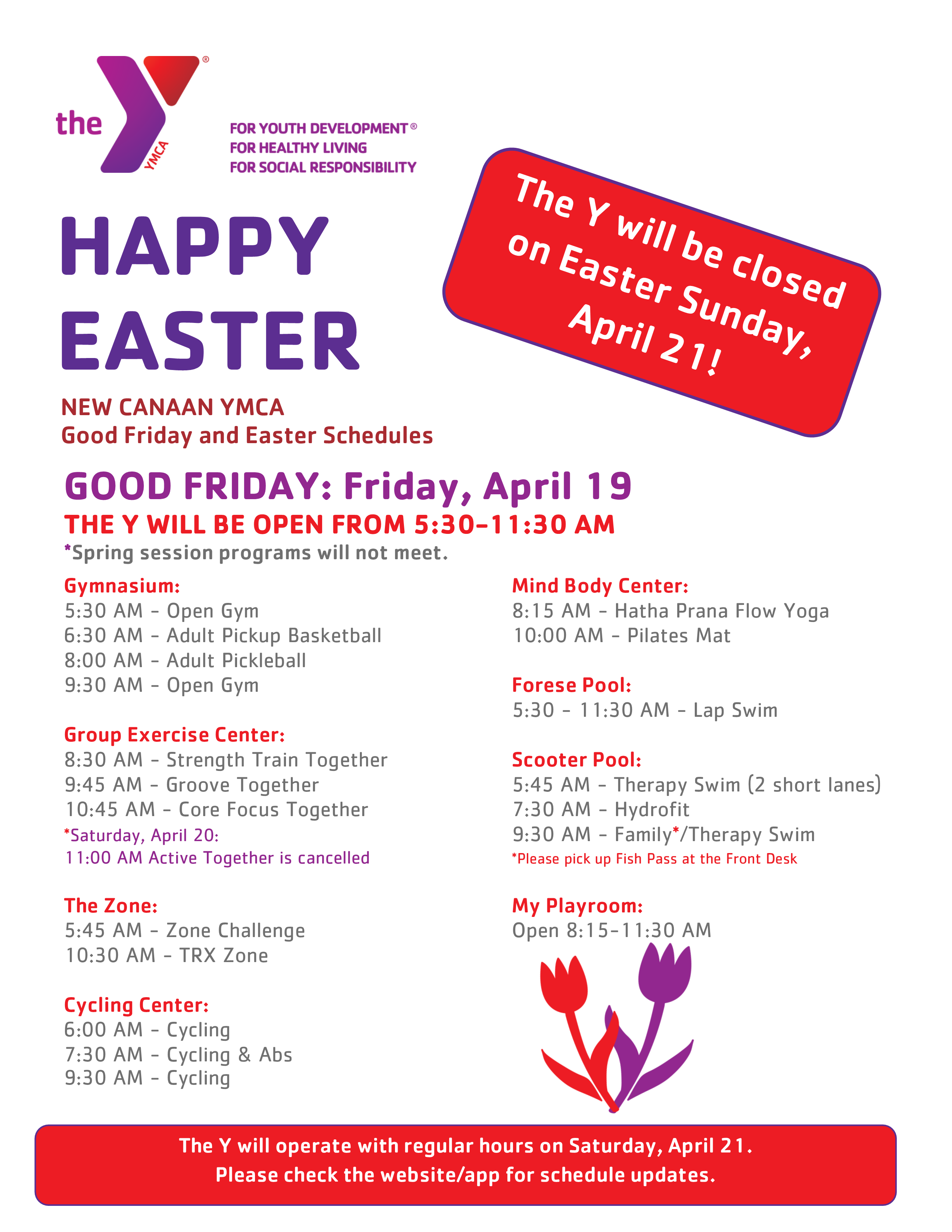 Good Friday Hours of Operation