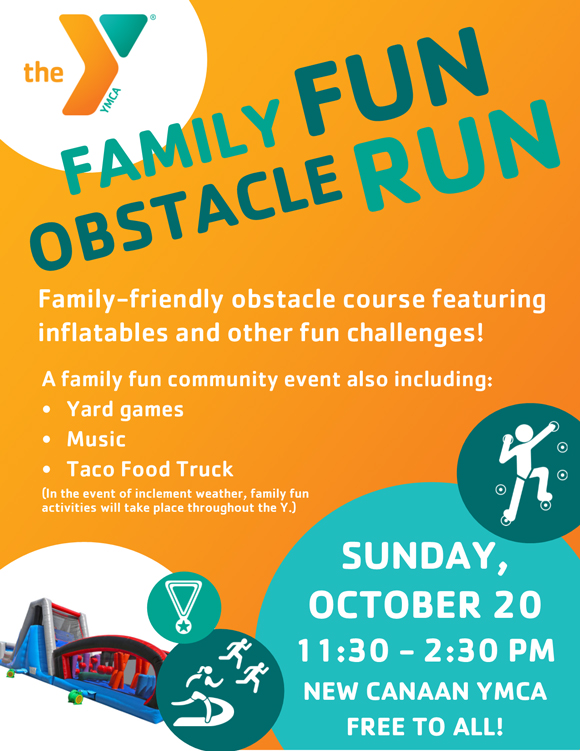 Family Fun Obstacle Run @ New Canaan YMCA